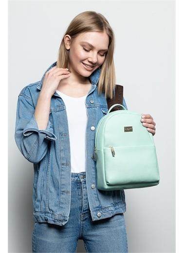 Marie Claire Sırt Çantası Yeşil
